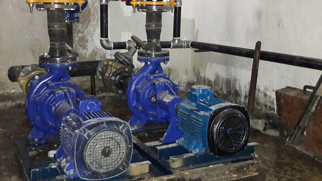 پروژه موتورخانه گرمایشی – پارک ساعی