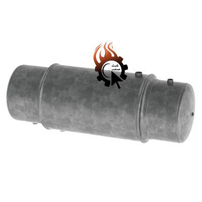 نمای یک مخزن آب گرم دو جداره 300 لیتری گالوانیزه